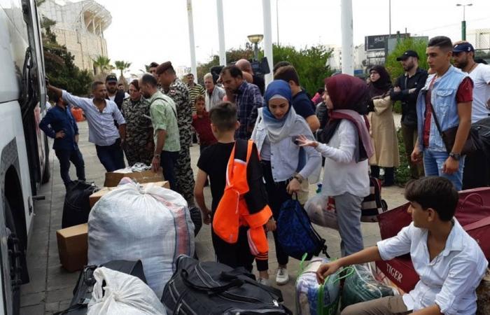 44 سورياً غادروا النبطية