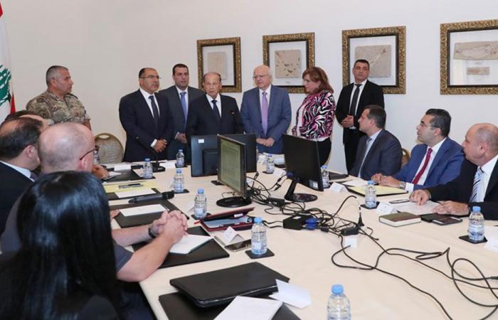 اجتماع في بعبدا برئاسة عون تحضيرا للقمة الاقتصادية
