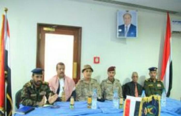 اليمن | تفاصيل اجتماع هام لقيادات التحالف العربي مع قيادات وزارة الداخلية بـ«مأرب»