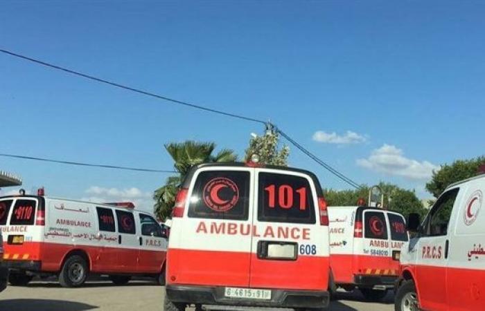 فلسطين   11 مصابًا جرّاء انقلاب حافلة وسط غزة