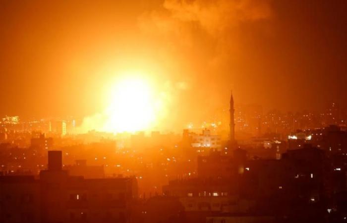 فلسطين   اتصالات مصرية لوقف الغارات الإسرائيلية على غزة