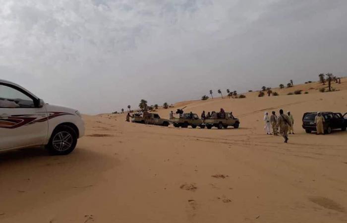 جيش ليبيا يتصدى لاختراق عصابات أجنبية الحدود الجنوبية