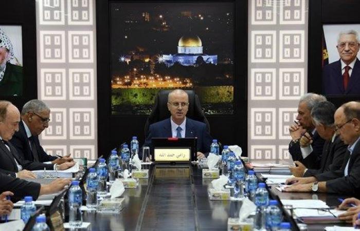 فلسطين | رام الله : الحكومة تدين التصعيد الاسرائيلي على غزة