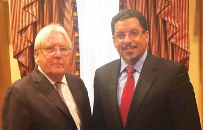 سفير اليمن في واشنطن يحض غريفيت على إقناع الحوثيين بالانصياع للقرارت الاممية