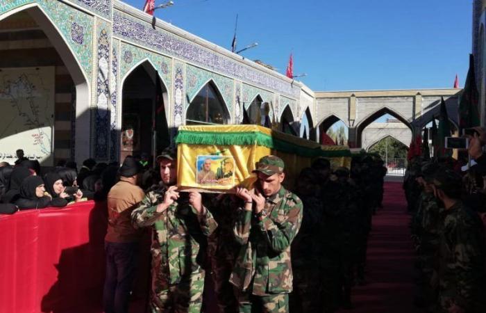 """بالصور: """"حزب الله"""" يشيّع 5 من عناصره"""