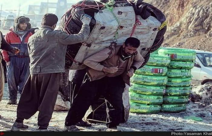 """إيران   الشرطة الإيرانية تقتل """"عتالاً"""" كرديا أبا لطفلين"""