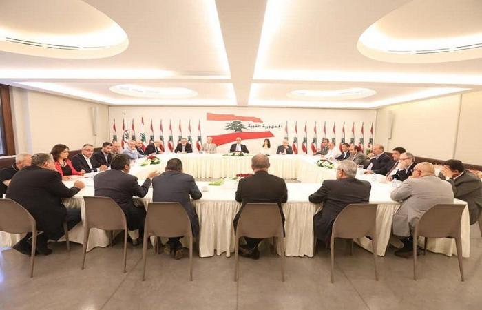 """اجتماع استثنائي لتكتل """"الجمهورية القوية"""" ظهر الاثنين"""