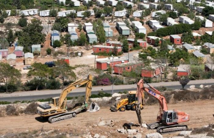 """فلسطين   المصادقة على بناء 20 ألف وحدة استيطانية في """"معاليه أدوميم"""""""