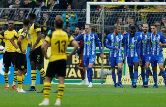 دورتموند يتعثر.. وبايرن ميونيخ يقترب من صدارة الدوري الألماني