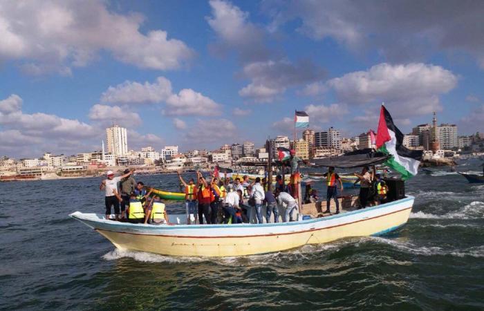 فلسطين   الاعلان عن إطلاق المسير البحري الـ14 غدًا الاثنين