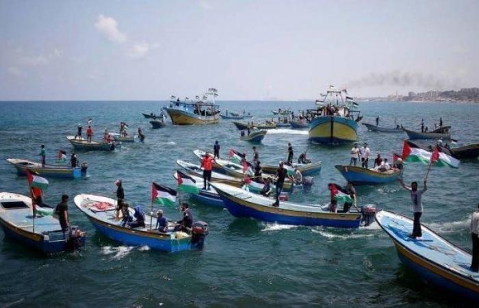 فلسطين   الحراك الوطني : الإعلان عن انطلاق المسير البحري الـ14 من ميناء غزة غداً