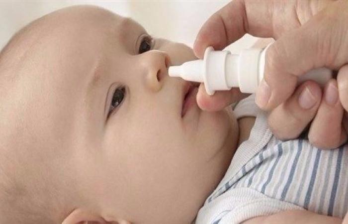 المحلول الملحي مفيد لعلاج زكام الأطفال