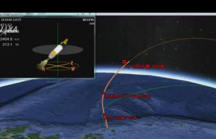 """شاهد.. """"خليفة سات"""" الإماراتي ينطلق إلى الفضاء"""