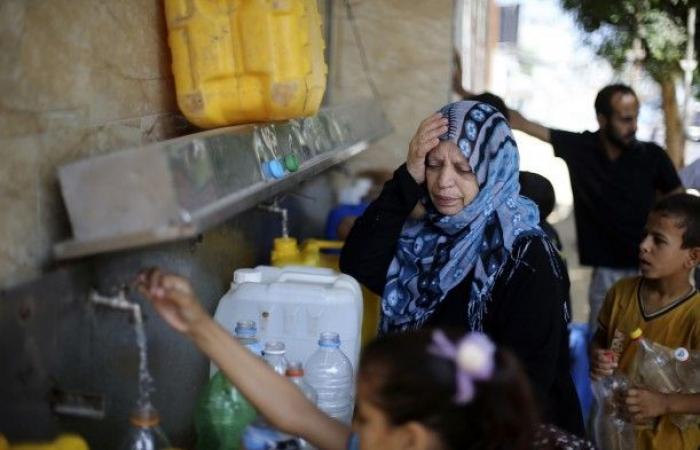 فلسطين   99% من مصادر المياه في غزة لا تتوافق مع المعايير العالمية ولا تصلح للشرب
