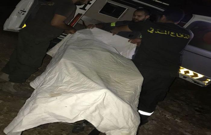 انتشال جثة فتاة اثيوبية الجنسية في الروشة