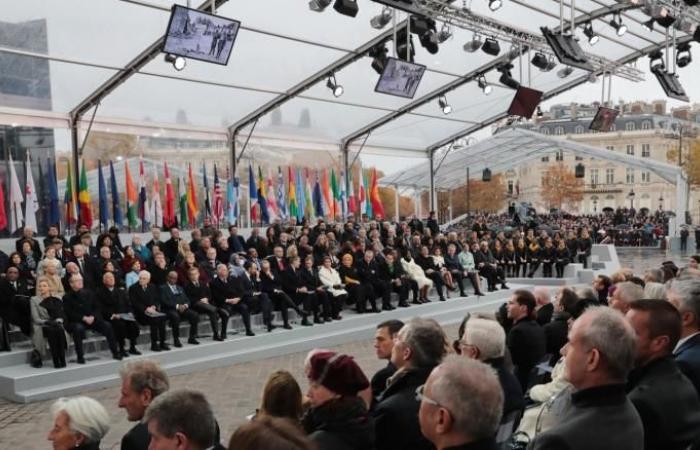 زعماء العالم يحتفلون بمئوية صمت بنادق الحرب العالمية الأولى