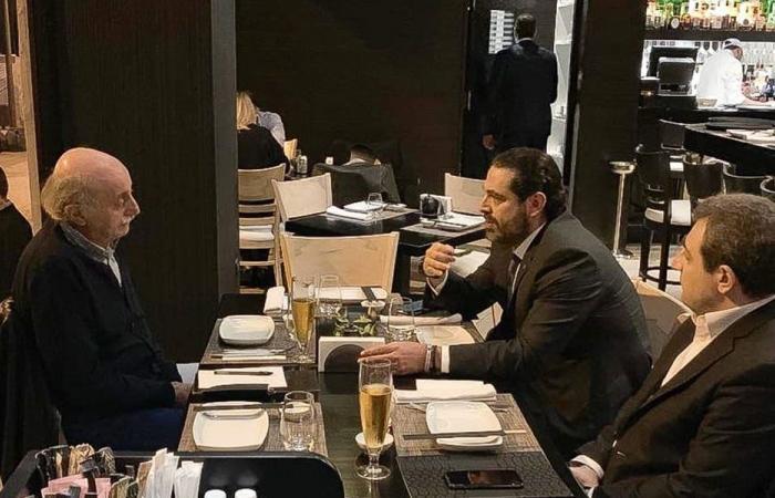الملف الحكومي بين الحريري وجنبلاط على مائدة العشاء