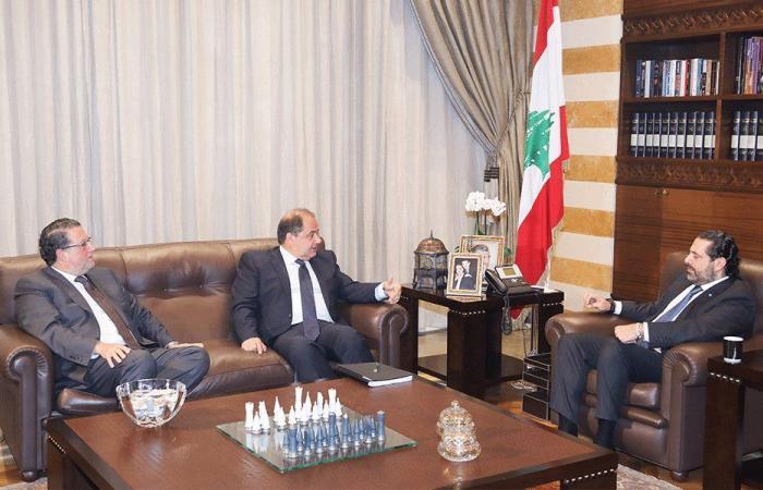 الحريري عرض مع عربيد وشقير الأوضاع الاقتصادية