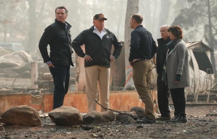 دولي | ترامب في كاليفورنيا لمعاينة أضرار أكبر حريق بتاريخ الولاية