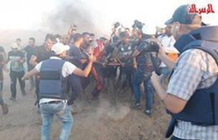فلسطين | إصابة طفل برصاص جيش الاحتلال شرق مخيم البريج وسط القطاع