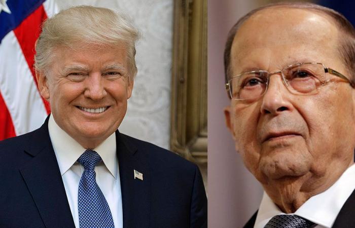 ترامب لعون: الولايات المتحدة ثابتة في دعمها للبنان