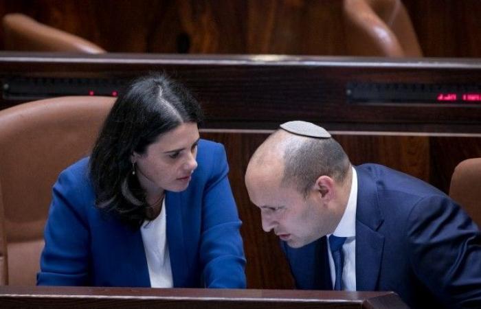 فلسطين | بينيت وشاكيد يقرران عدم الاستقالة ومنح نتنياهو الفرصة