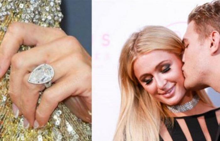 بعدما قدّم لها خاتماً بمليوني دولار... باريس هيلتون تنفصل عن خطيبها!