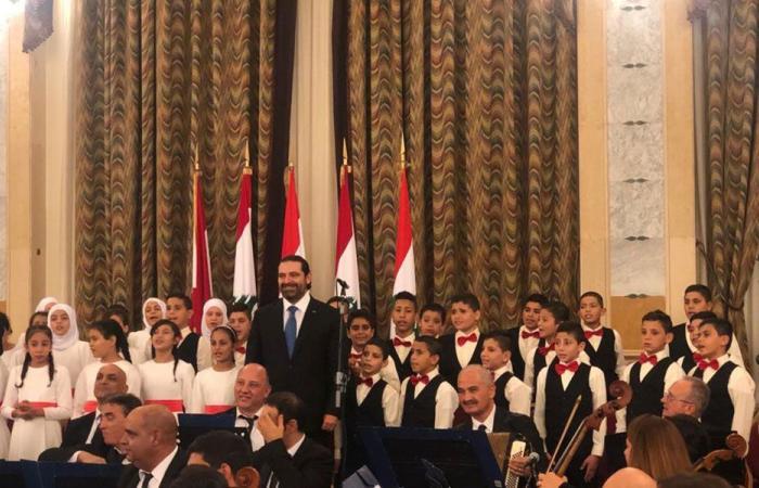 حفل موسيقي في السراي بمناسبة اليوبيل الماسي للاستقلال