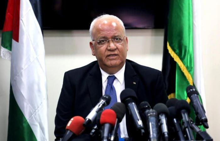 فلسطين   عريقات يدعو دول العالم لإحباط مشروع قرار أمريكي يدين حماس في الأمم المتحدة