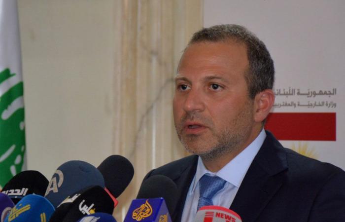 باسيل يقدّم اقتراح قانون لتنظيم دخول الأجانب إلى لبنان والإقامة