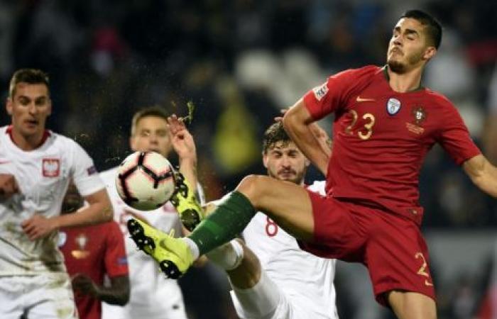 البرتغال تتعادل مع بولندا