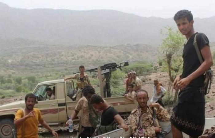اليمن   الجيش اليمني يحكم سيطرته على مواقع جديدة بين لحج وتعز