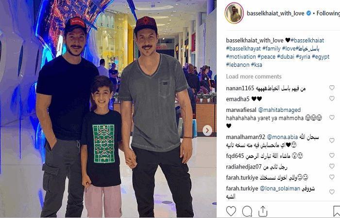 صدمة كبيرة بسبب صورة باسل خياط مع شقيقه