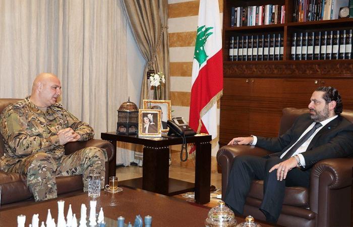 الأوضاع الأمنية بين الحريري وقائد الجيش