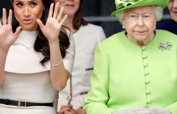 ميغان ميركل ممنوعة من التحدث الى الملكة!!