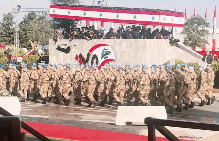 استقلال لبنان: عرض عسكري وتهانٍ وخلوة حكومية للرؤساء بلا نتائج