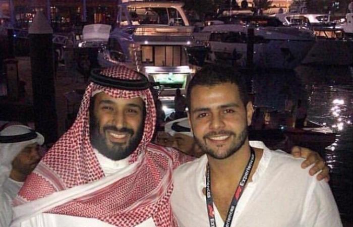 الخليج   صورة لولي العهد السعودي مع محمد ابن اخ جمال خاشقجي