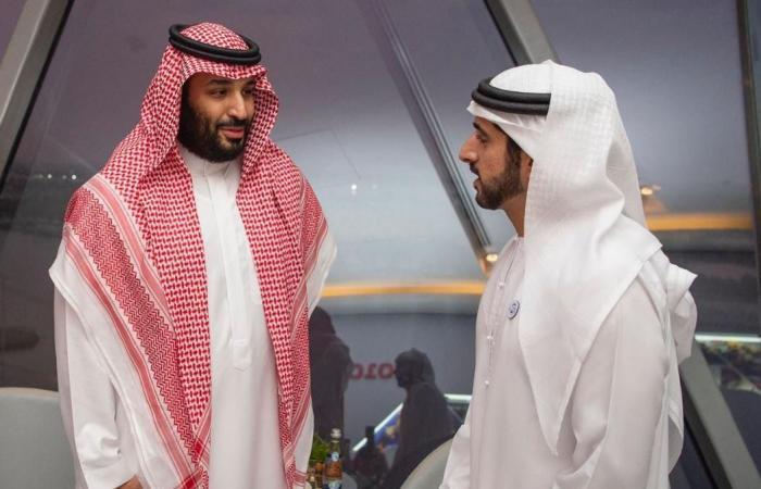 الخليح | ولي العهد يلتقي بملك إسبانيا السابق في أبوظبي
