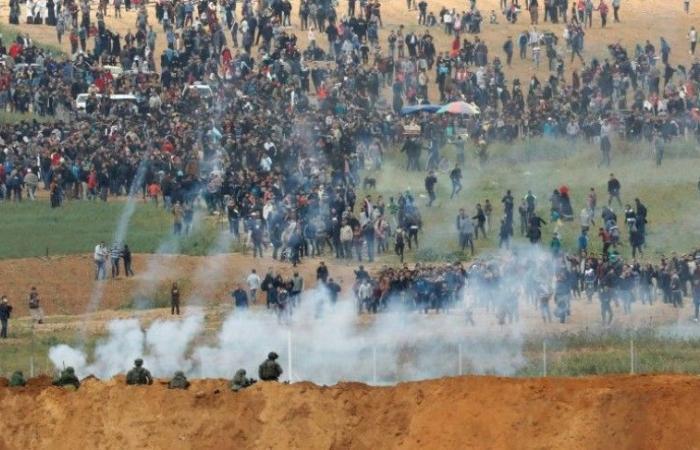 فلسطين | واللا العبري: خيبة أمل لدى المنظومة الأمنية الإسرائيلية بسبب مسيرات العودة