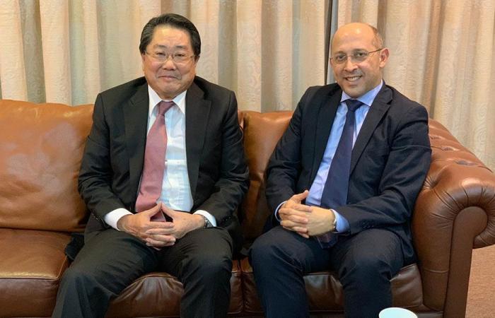 آلان عون التقى سفير اليابان: لحصول غصن على مسار قضائي عادل