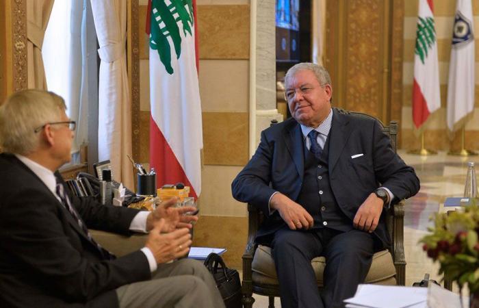 ملف النازحين السوريين بين المشنوق وسفير روسيا