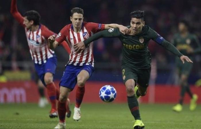 أتلتيكو مدريد وبروسيا دورتموند إلى ثمن النهائي