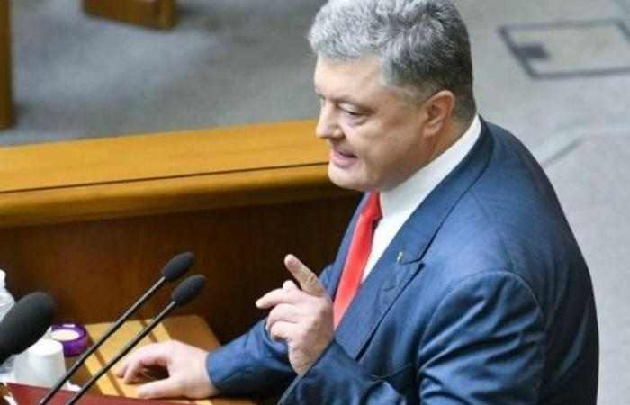 رئيس أوكرانيا يطلب من الحلف الأطلسي نشر سفن ببحر ازوف