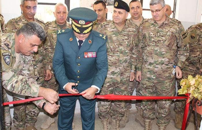 الجيش: افتتاح قاعتين للتدريب في معهد التعليم في بعلبك