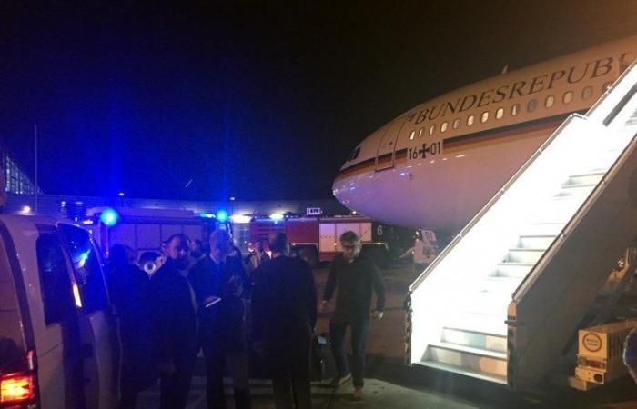 طائرة ميركل المتوجّهة إلى G20 تنفّذ هبوطاً اضطراريا