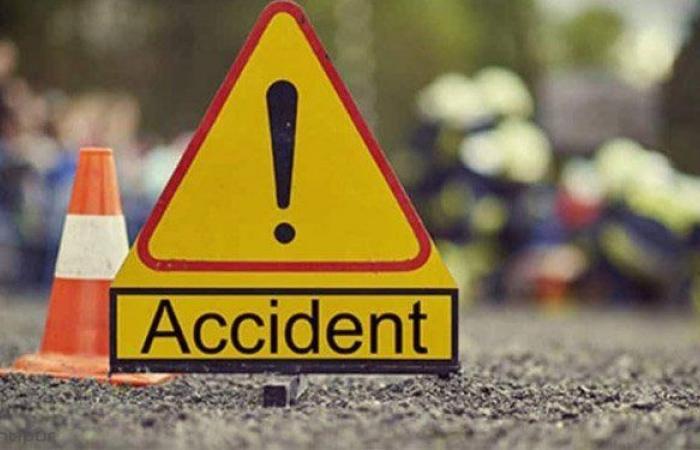 جريح بحادث صدم على طريق الضنية طرابلس