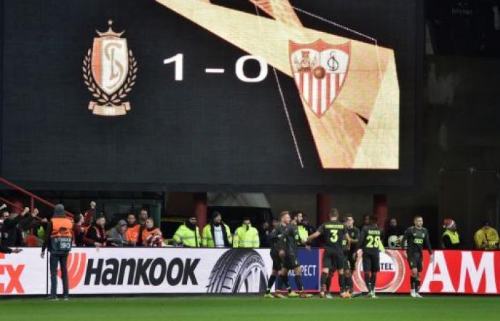 إشبيلية يسقط في بلجيكا ودينامو كييف يتأهل