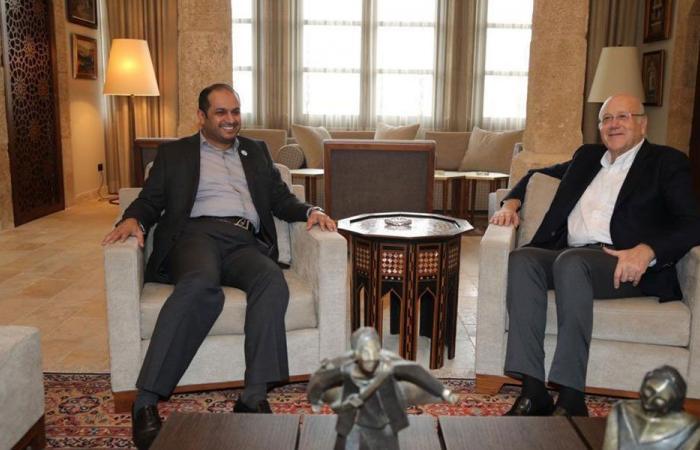 الشامسي زار ميقاتي: نتمنى تشكيل حكومة في القريب العاجل