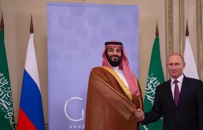 الخليح   ولي العهد السعودي يجتمع مع الرئيس الروسي في قمة العشرين