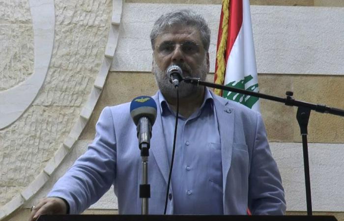 الموسوي: بيروت ستبقى بخندق المقاومة بندقية واحدة باتجاه فلسطين